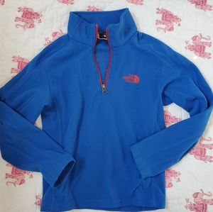 North Face half-zip pull-over fleece sweater